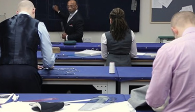 The Savile Row Academy organises Men's Pattern Cutting and Fitting Course