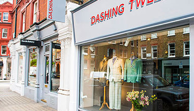 Dashing Tweeds launched new flagship store in Marylebone