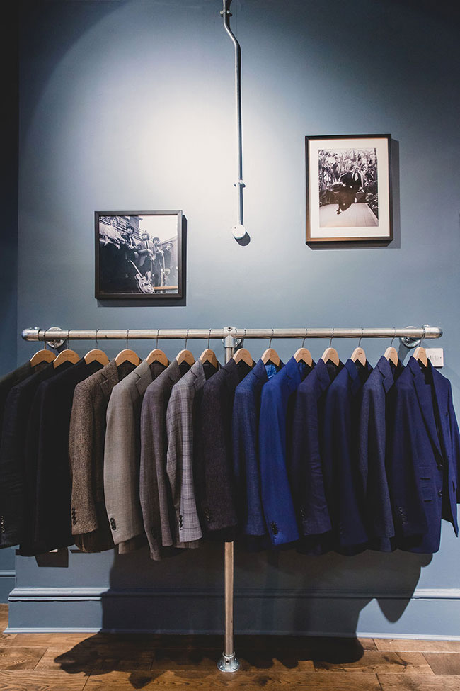 Bespoke and made-to-measure suits by Jack Davison