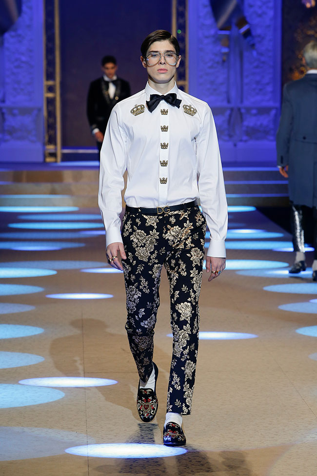 Dolce and Gabbana Fall/Winter 2018-2019 collection