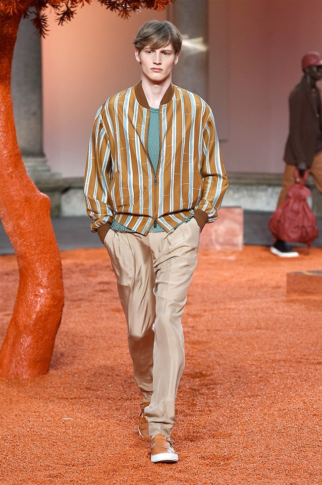 Ermenegildo Zegna Spring/Summer 2018 collection