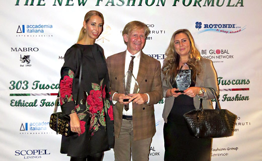 303 TUSCANS – certificate for ETHICAL FASHION was given to Ethical brands from the Netherlands