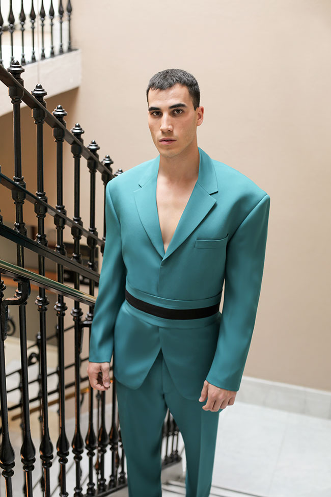 Franklin Eugene with global debut during Milan Fashion Week Men's Spring/Summer 2019