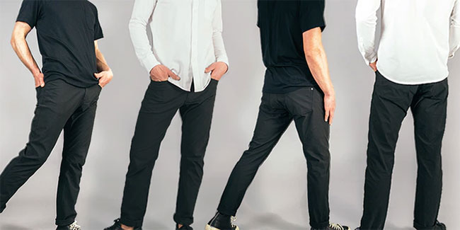 The evolution pant - the ultimate pant for travel, outdoor and every day