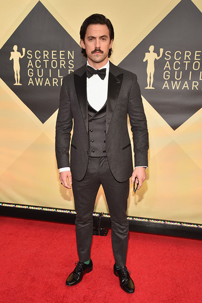 Grey tuxedos - the next big trend in menswear