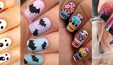 Halloween easy manicure ideas