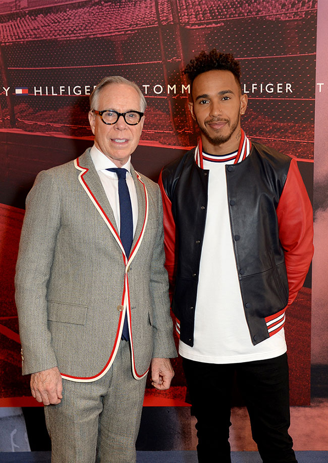 Tommy Hilfiger announces Lewis Hamilton as global ambassador for Tommy Hilfiger Men's