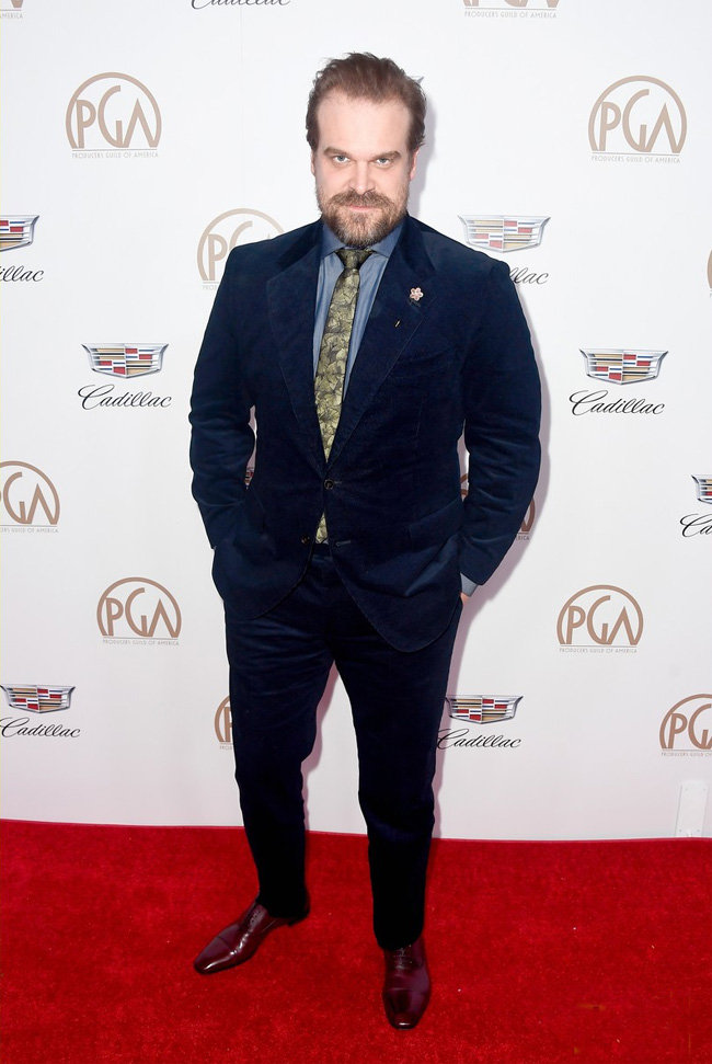 Celebrities' style: David Harbour
