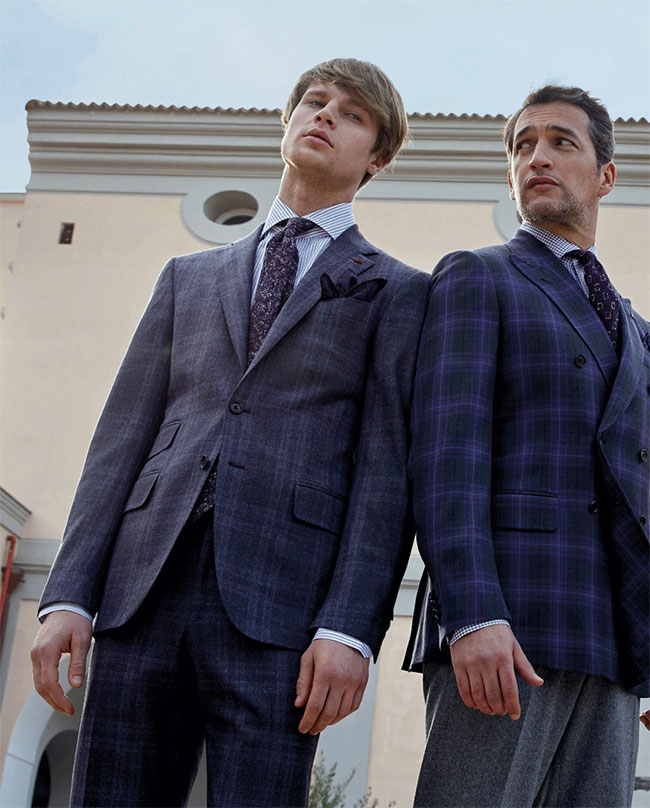 ISAIA Fall/Winter 2018-2019 collection - The great sartorial tradition of Casalnuovo