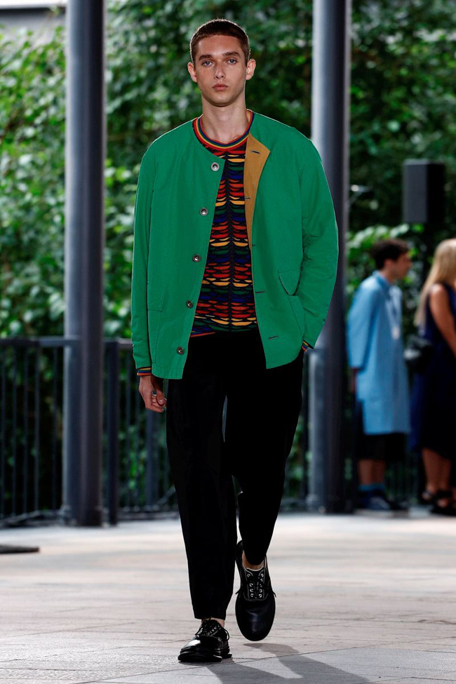 Issey Miyake does Fusion with Finesse at Paris Men's Fashion Week Day 3