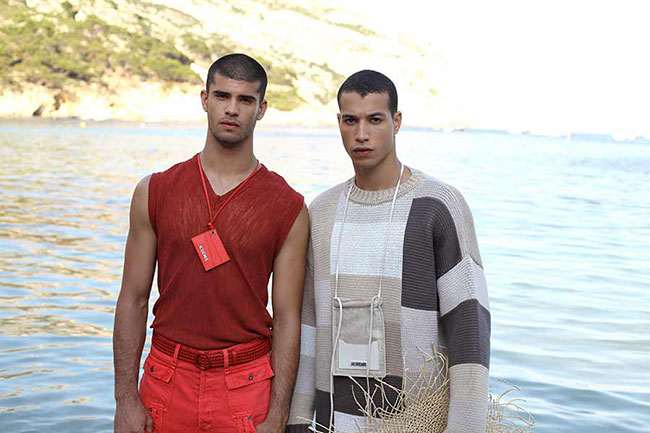 Jacquemus with collection for men for Spring/Summer 2019