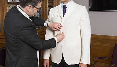 French bespoke suits by Kees Van Beers