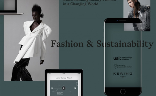 Kering and London College of Fashion launch the world's first open-access digital course in sustainable luxury fashion
