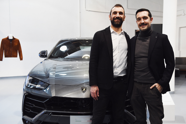 Automobili Lamborghini presents the Collezione Fall-Winter 2018-2019 during Milan Men's Fashion Week