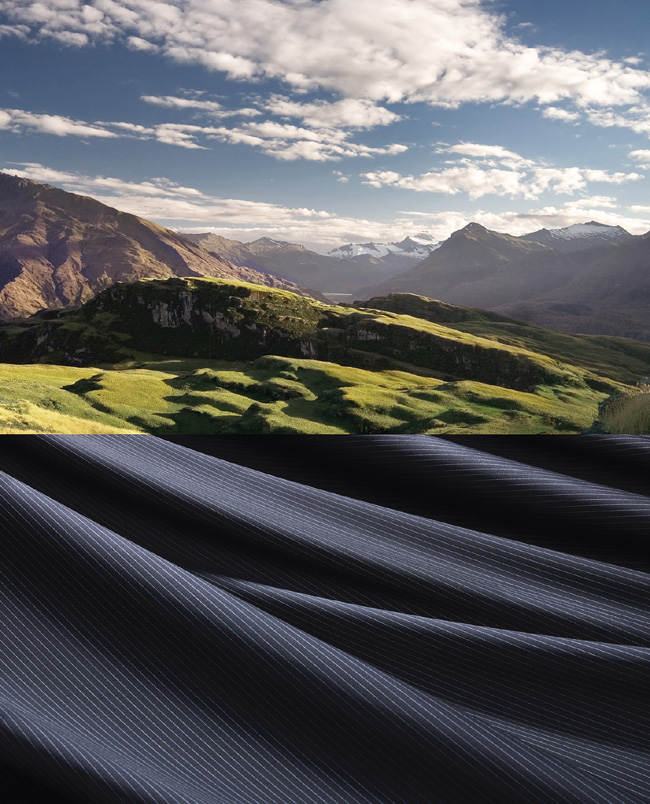 Loro Piana remains focused on its most iconic heritage fabrics: ZELANDER®, naturally resistant for dynamic lifestyles past and present