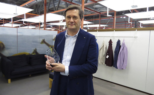 Lanificio Luigi Colombo - ethical production of fabrics Made in Italy awarded by