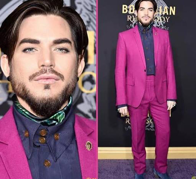 Adam Lambert is the winner of Most Stylish Men October 2018