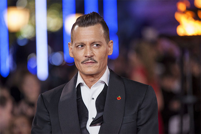 Once again...Johnny Depp is the winner of Most Stylish Men September 2018