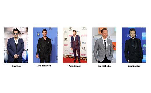 Once again...Johnny Depp is the winner of Most Stylish Men September 2018