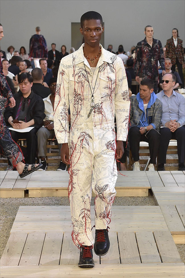 Alexander McQueen Spring/Summer 2018 collection