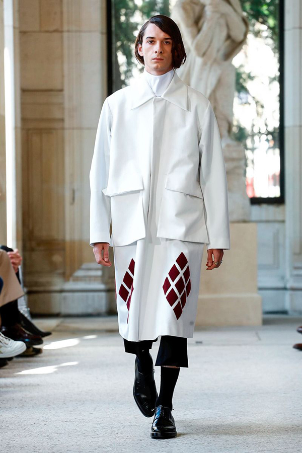 How Namacheko Turned Heads at Paris Men's Fashion Week