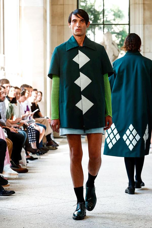How Namacheko Turned Heads at Paris Men's Fashion Week