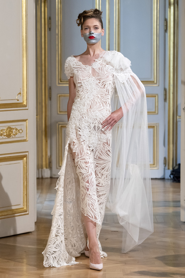 Patuna Fall/Winter 2018-2019 collection during Haute Couture paris Fashion Week