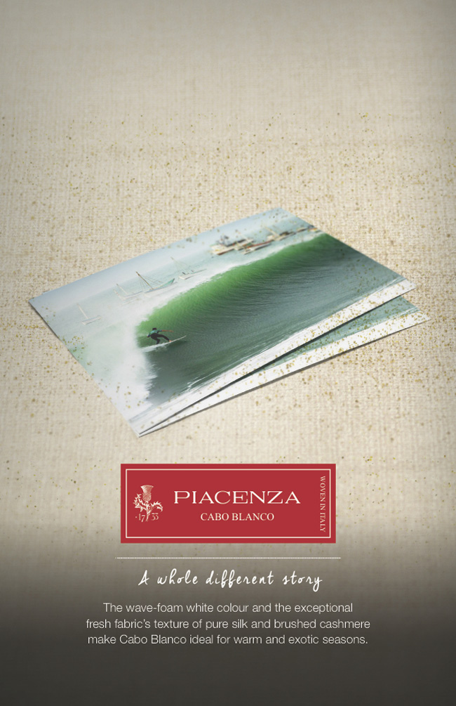 Piacenza Cashmere Spring/Summer collection is presented at the 26th edition of Milano Unica