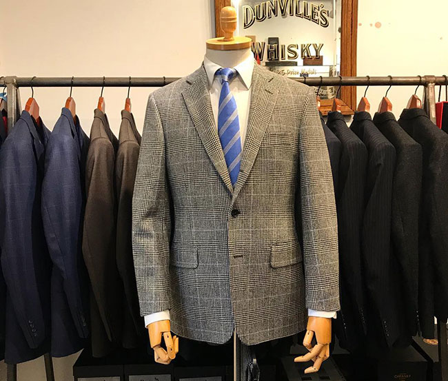 Semi-bespoke suits by Regent Tailoring