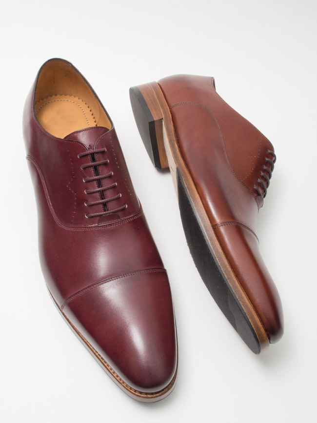 Custom men's shoes by Saint Vacant