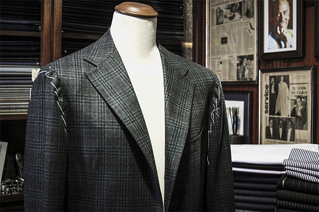 Sartoria Ciardi - a symbol of elegance in Naples