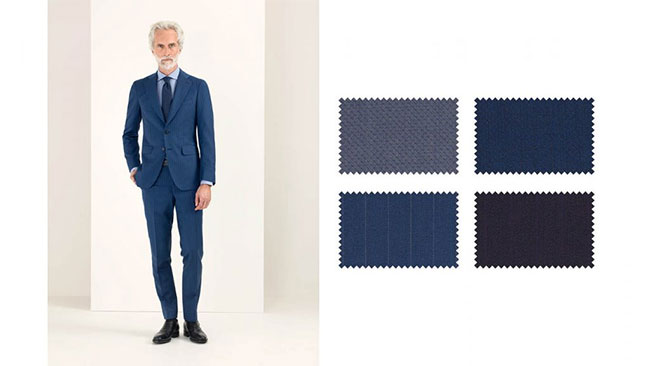 Spring/Summer 2018 suiting collections by Scabal