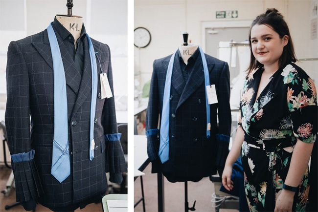 SCABAL has sponsored the industry project for the 2nd year bespoke tailoring students at London college of Fashion