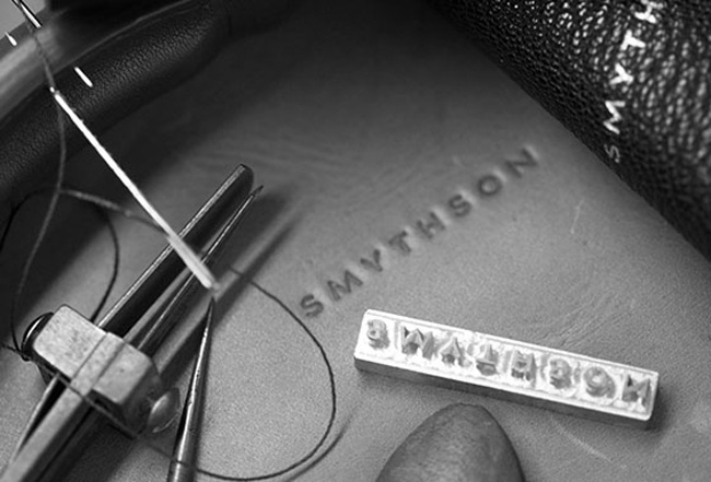 Smythson - bespoke leather accessories