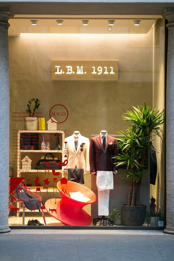 L.B.M.1911 celebrates Milan Design Week hosting a special exhibition by Magis