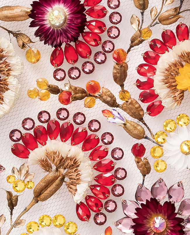 Swarovski launched fall/winter 2019/2020 innovations at Munich Fabric Start