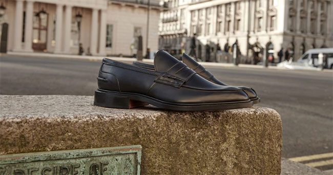 Bespoke shoes by Trickers