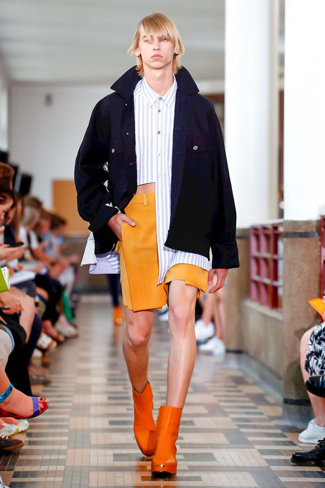 Wooyoungmi show at Paris Men's Fashion Week