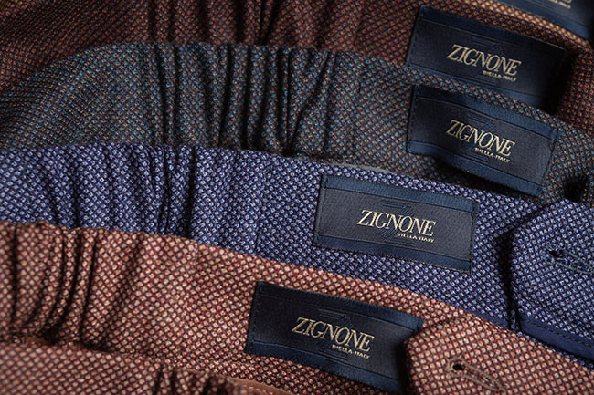 Lanificio Zignone Autumn/Winter 2019: Fabrics with spontaneous depth