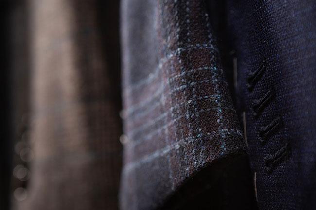 Lanificio Zignone Autumn/Winter 2019: Fabrics with spontaneous depth