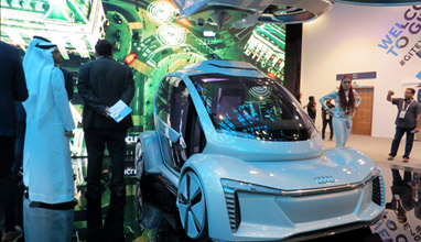 GITEX Technology Week Highlights - Flying cars, Autonomous driving cars, Robots, 5G and more
