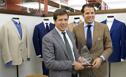 303 TUSCANS award for ethical fashion for Piacenza - Not a surprise for one of the most sustainable Italian fabrics producers