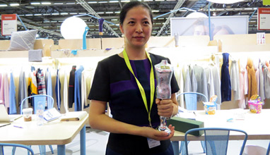 Skylark Cashmere - finest cashmere garments and accessories received 303 Tuscans Ethical Fashion Award