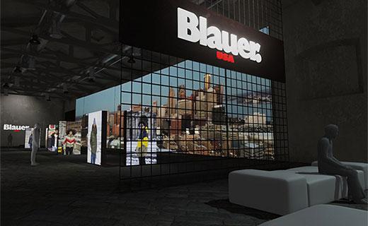 Human Landscapes per il ventennale di Blauer