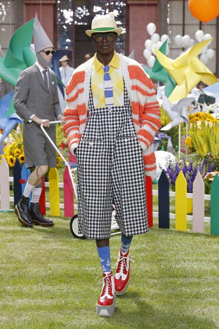 Thom Browne Spring/Summer 2019 collection