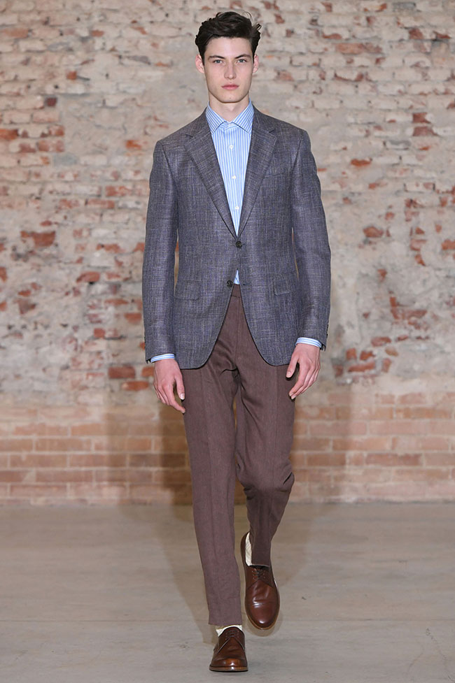 Canali Spring/Summer 2019 collection