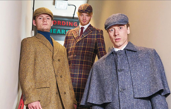 Dashing Tweeds will launch women's made-to-measure collection and new collaboration with Dougie Millings and Son