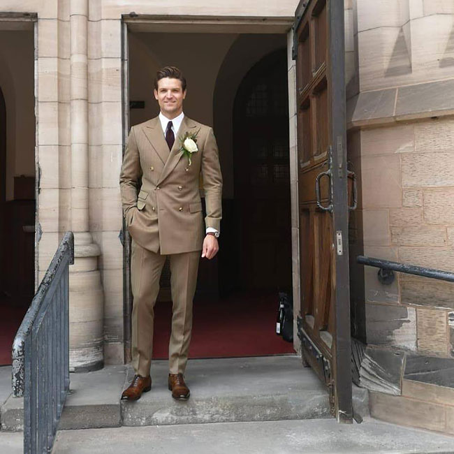 Bespoke suits by Harris and Howard