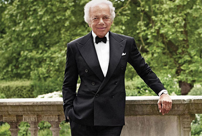 Ralph Lauren awarded honorary knighthood