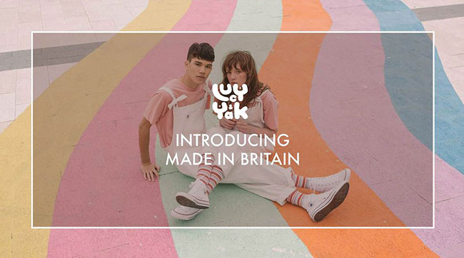 Lucy and Yak has launched its highly anticipated `Made in Britain`
